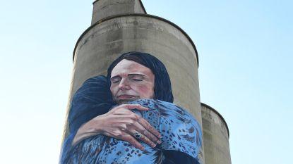 Metershoge muurschildering van Nieuw-Zeelandse premier in Melbourne beroert de gemoederen