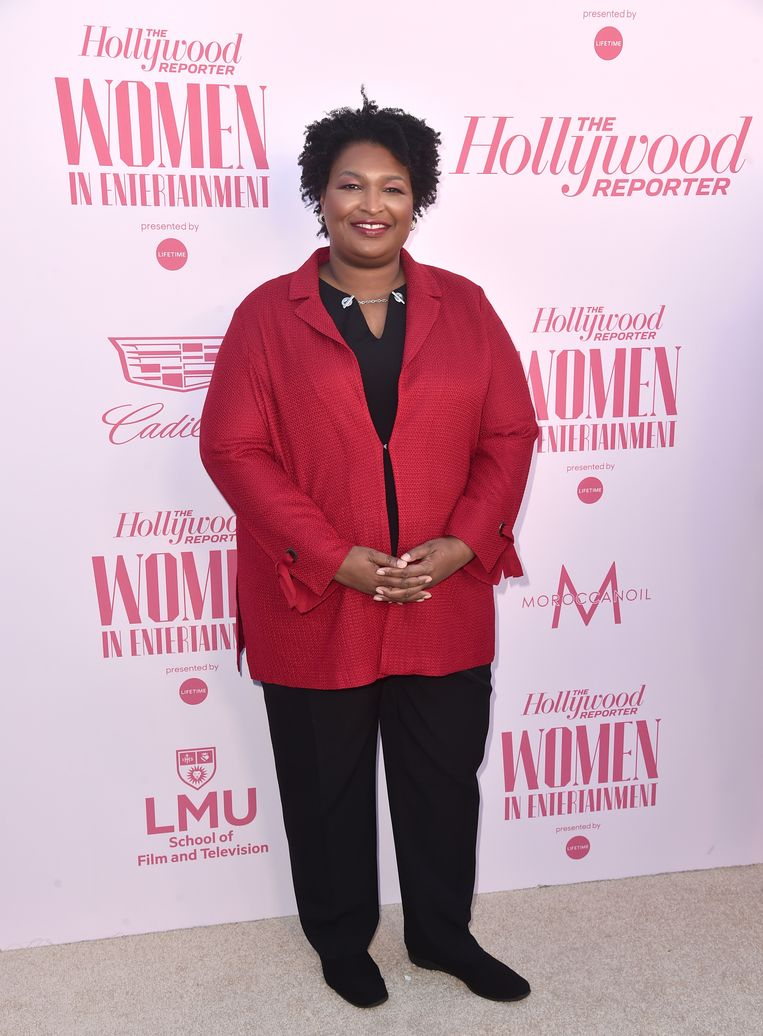 Stacey Abrams. Beeld Getty Images