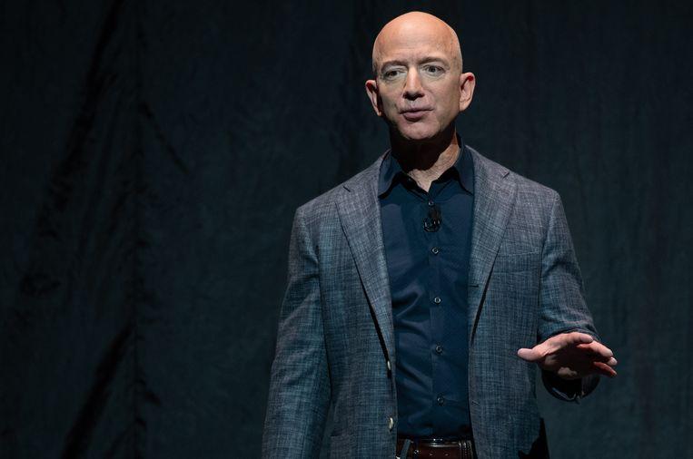 Jeff Bezos. Beeld AFP