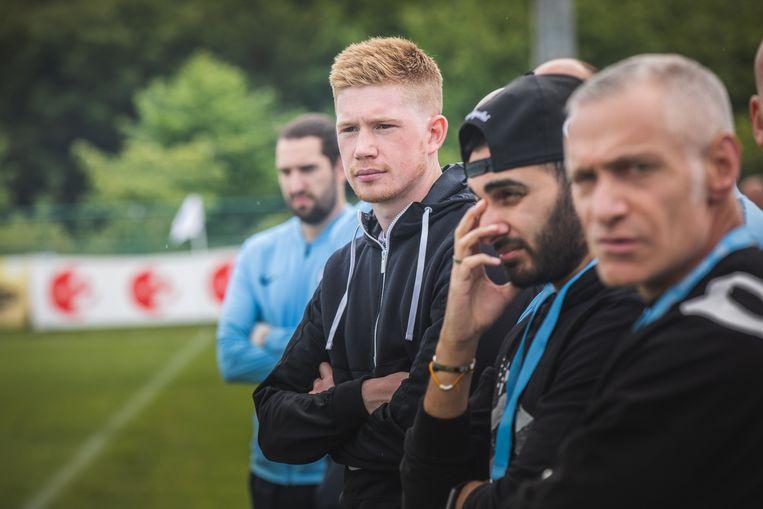 Aandacht voor de jeugdmatch Genk - Manchester City