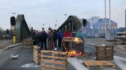 Update staking: piketten verdwijnen, Meulestedebrug open