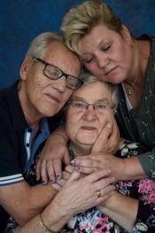 fotoreeks over Spreken zonder woorden: hoe dementie relaties verandert