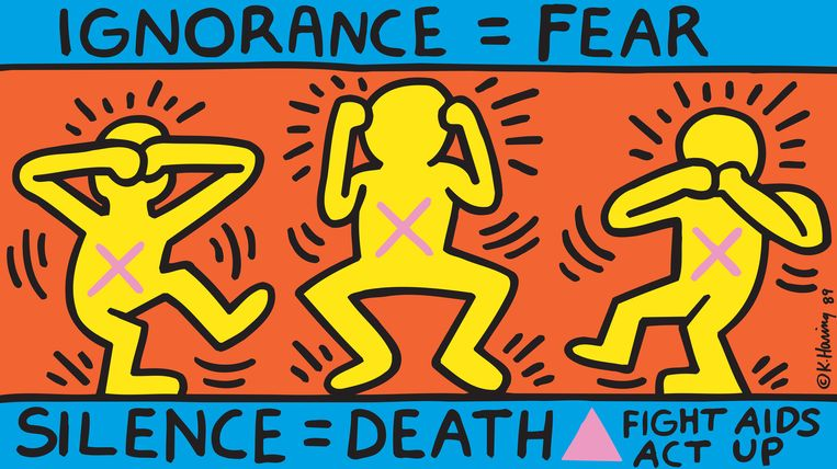 null Beeld © Keith Haring Foundation