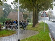 Epe nu al ontevreden over gloednieuw fietspad langs Heerderweg