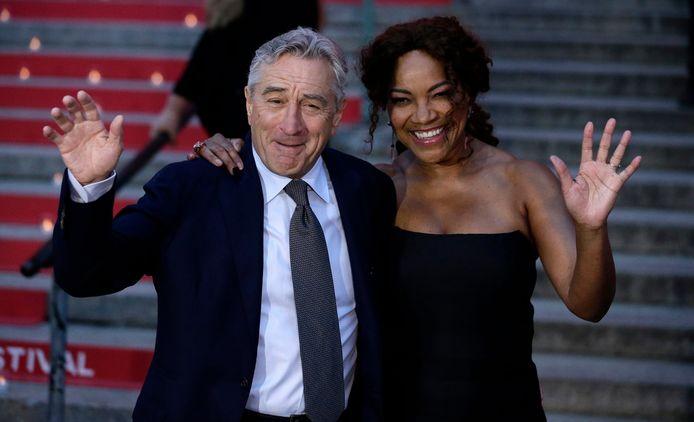 Robert De Niro et son ex-femme Grace Hightower.
