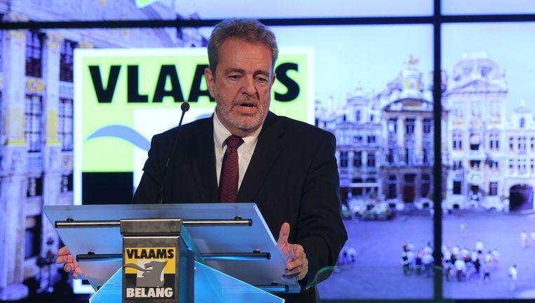 Gerolf Annemans, voorzitter van Vlaams Belang. Beeld BELGA
