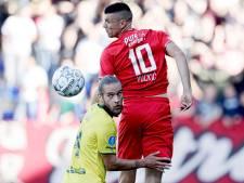Tien man FC Twente winnen met overmacht in Sittard
