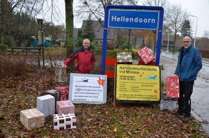 De Raad van Kerken Nijverdal-Hellendoorn  hoopt dit jaar weer zo'n 650 kerstpakketten te kunnen afleveren bij de minima in de gemeente Hellendoorn.