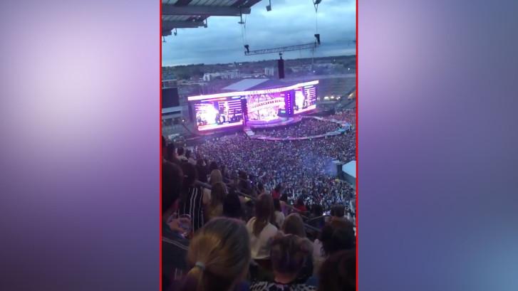 Mel B reageert na geflopt concert Spice Girls