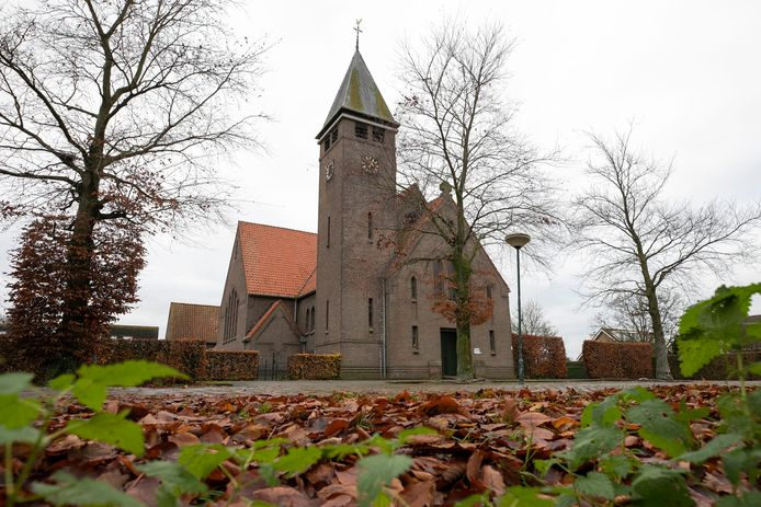 De H. Catharina van Alexandrië kerk in Herpt.