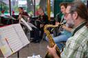 Een repetitie van het orkest Cumquisque.