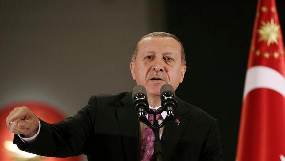 Turks president Erdogan.
