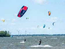 Mag Wolderwijd straks uitgroeien tot het internationale waterparadijs van kitesurfers?