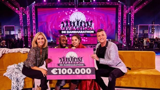 """Winnaars Nederlandse tv-show 'De Dansmarathon' weerleggen kritiek: """"Enkel last van droge lippen"""""""
