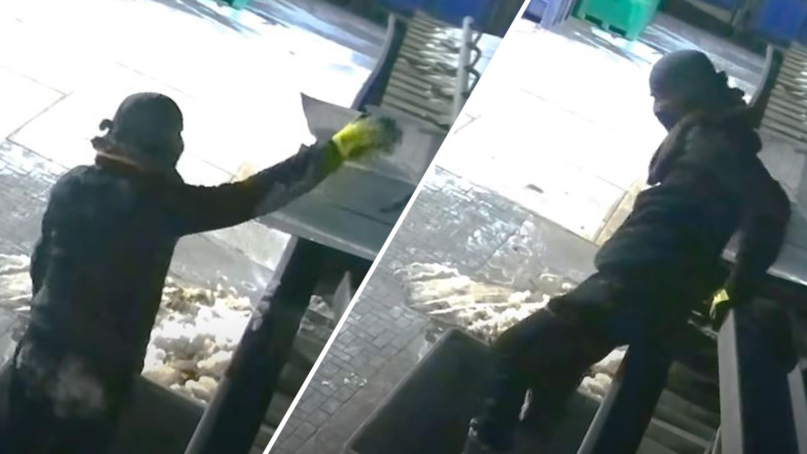 De inbrekers sloegen meermaals toe op Bedrijventerrein Hazewinkel in Oldenzaal.