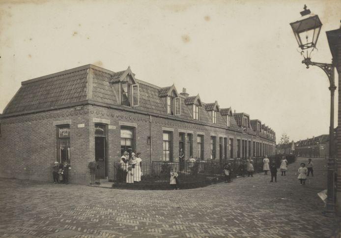 De Bremstraat in 1910.