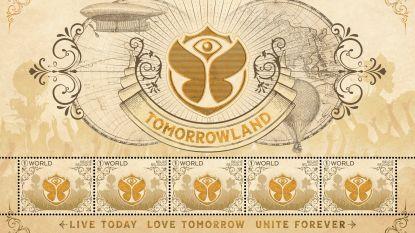 Tomorrowland heeft z'n eigen postzegel én muzikale postkaart