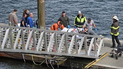 Vijf doden en tien gewonden na crash watervliegtuigen in Alaska