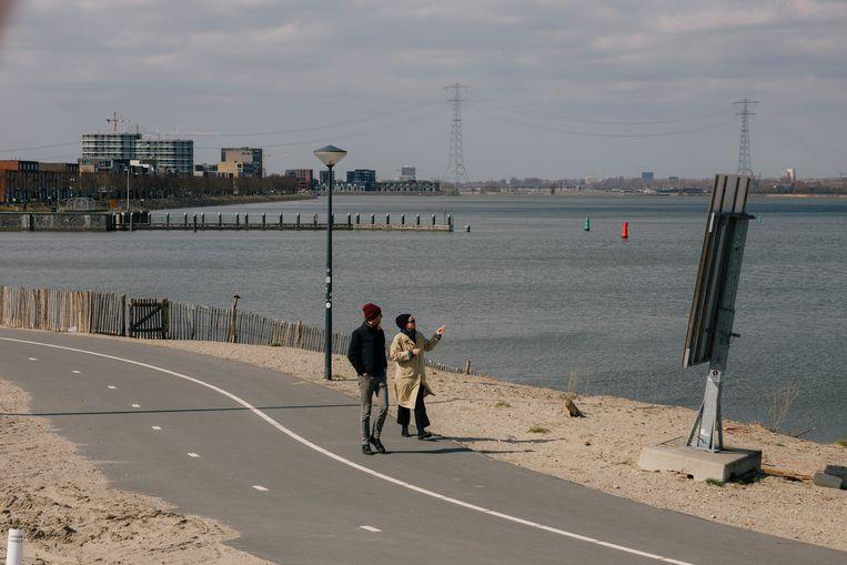 Weer protest tegen turbines rond Amsterdam: 'Wij zijn voor windenergie, maar liever op zee'