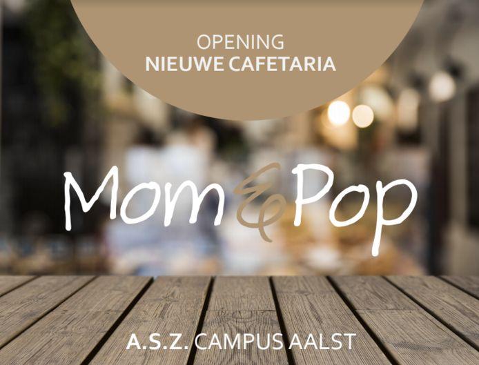 De nieuwe cafetaria heet Mom&Pop.