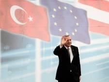 Erdogan wil buiten Turkije op campagne in hal voor minstens 10.000 mensen