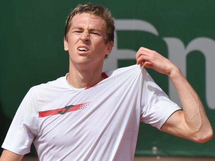 C'est déjà terminé pour Kimmer Coppejans à Wimbledon.