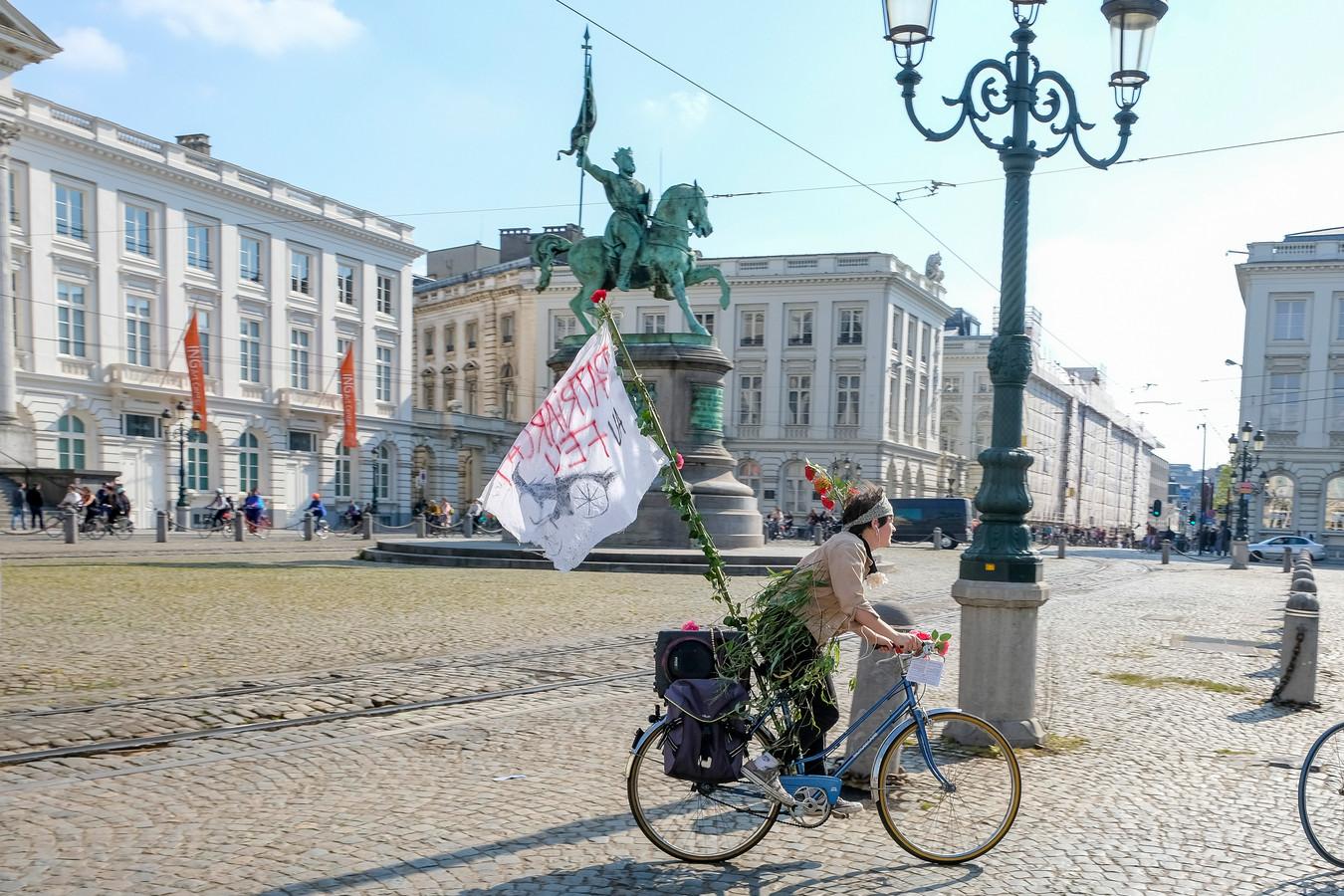 Koningsplein in Brussel.