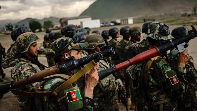 Gevechten tussen taliban en Afghaanse troepen in provinciehoofdsteden