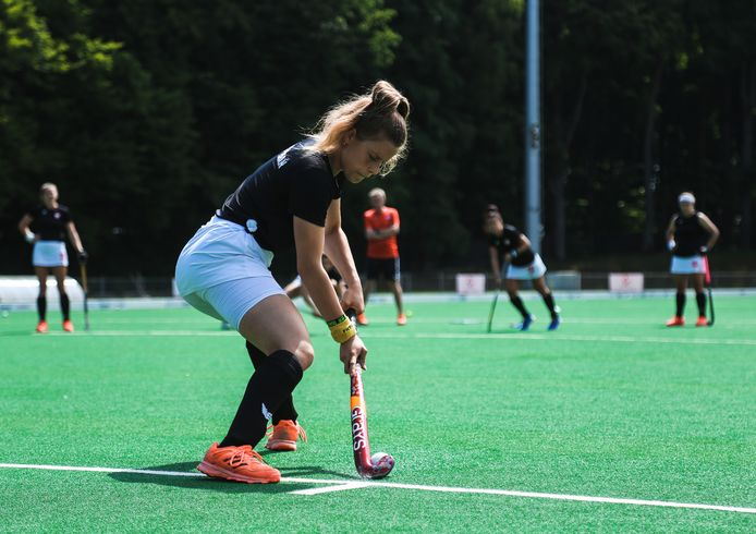 Hockeyster Aleksandra Dymińska versterkt dit seizoen HC Alphen.