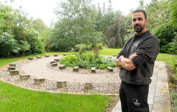 Peter Woolderink is de nieuwe beheerder van de begraafplaatsen in Haaksbergen