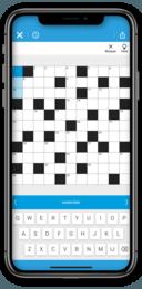 Kruiswoordpuzzel in FUN-omgeving.
