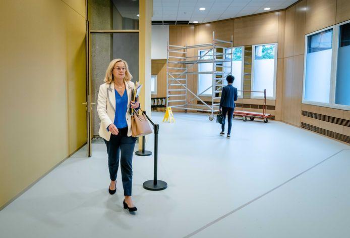 Demissionair Minister Sigrid Kaag van Buitenlandse Zaken (D66) is opgestapt.