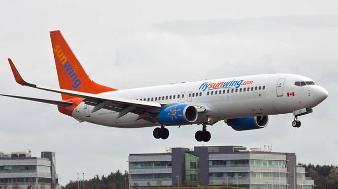 Straaljagers moeten vliegtuig met dronken vrouwen escorteren