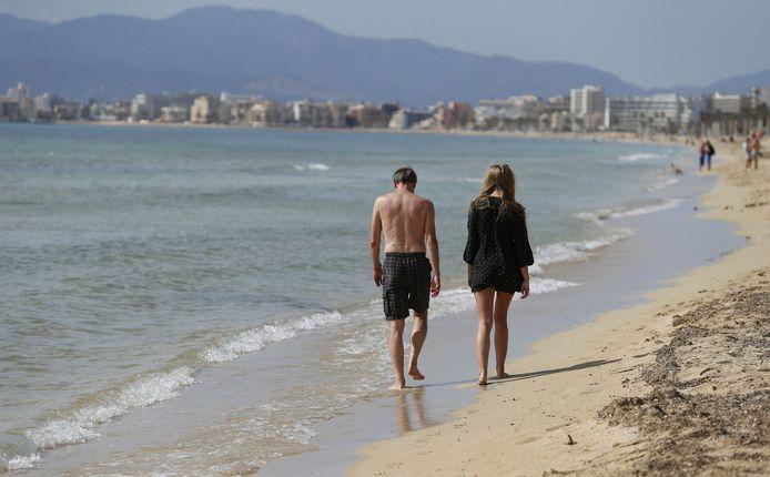Playa de Palma in Mallorca.