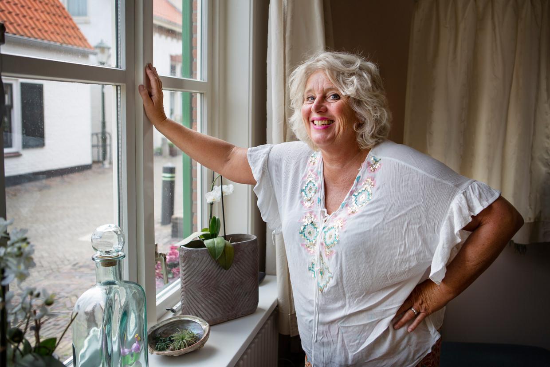 Yolande Van Andel groeide op in Zandvoort en kijkt met nostalgie terug op de Formule 1 van de vroege jaren tachtig. Beeld Pauline Niks
