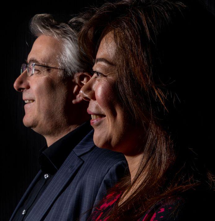 De liefde bracht Peter Birdsall en Maggie Feng samen.