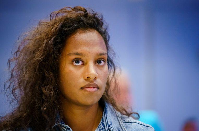 In september spande Dilani Butink een zaak aan over de misstanden bij haar adoptie uit Sri Lanka in 1992. Beeld ANP