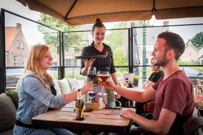 Grand Café De Beerze in Middelbeers.