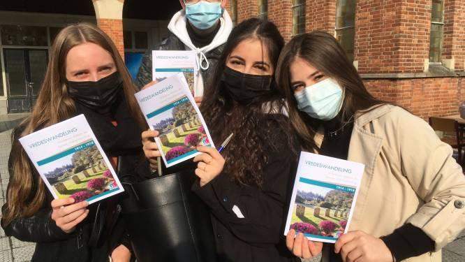 Leerlingen Sint-Jozef creëren vredeswandeling rond WOI, dienst Toerisme wil ze permanent aanbieden