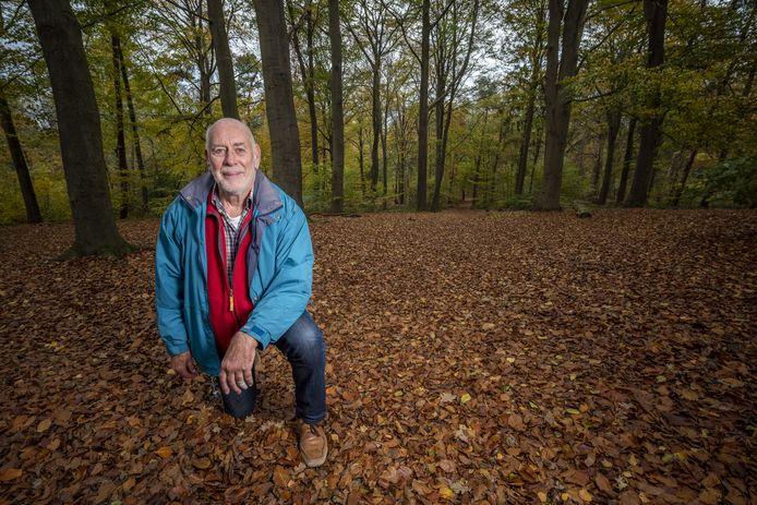 De voorzitter van de stichting van het landgoed, Derk Jan Verstand.