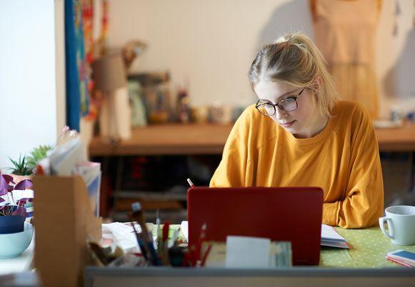 (Themabeeld) - Het algemene slaagpercentage van UCLL-studenten is bemoedigend.