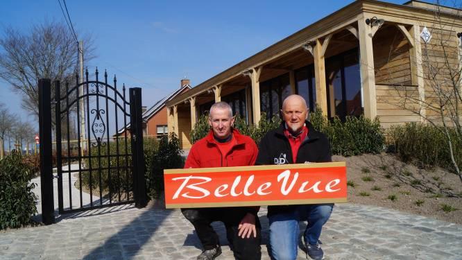 """Vader en zoon slopen voormalig café Belle-Vue en bouwen eethuis: """"Uniek stukje nostalgie verdient een nieuw leven"""""""