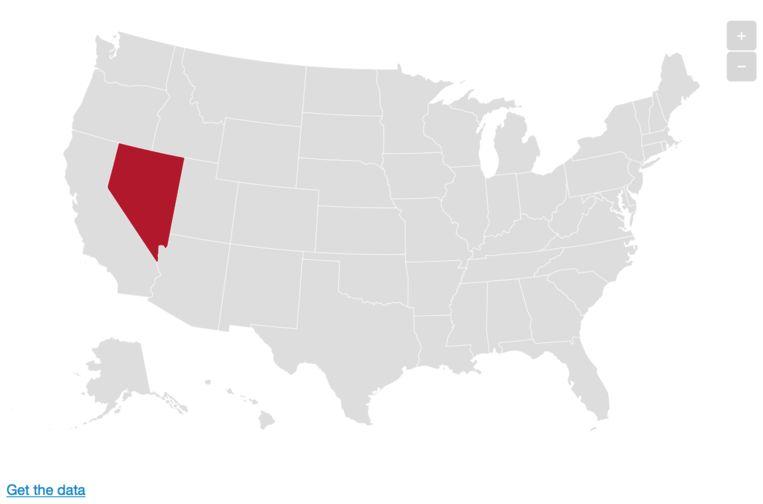 Nevada. Beeld De Morgen