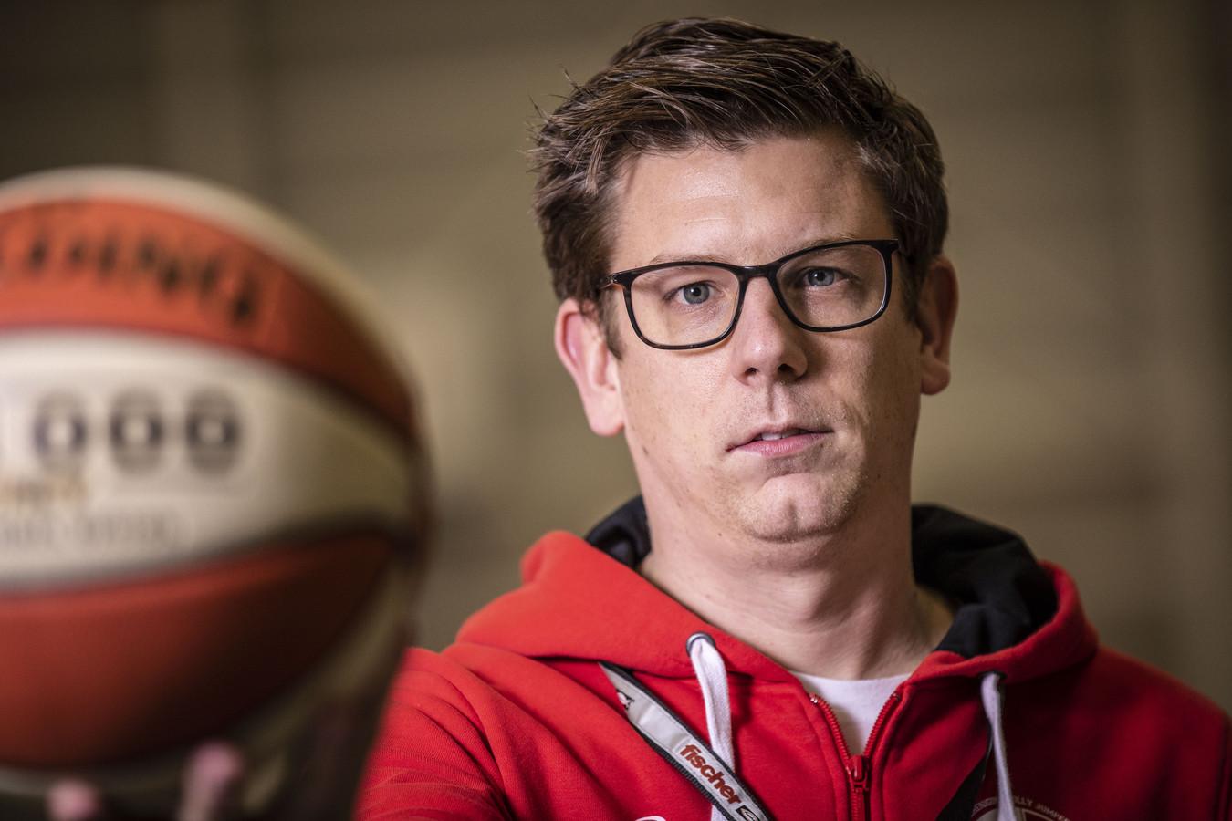 Mart Kieftenbeld is bezig aan zijn laatste weken als trainer/coach van Jolly Jumpers