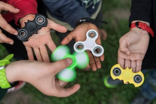 Men zocht vaak naar tweedehands Fidget Spinners.