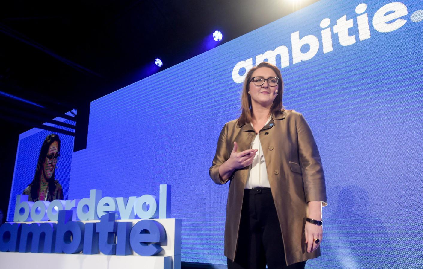 Open Vld-voorzitter Gwendolyn Rutten.