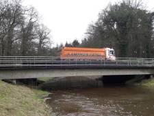 Onveilige brug in oude N18 tussen Haaksbergen en Eibergen per direct afgesloten voor zwaar verkeer