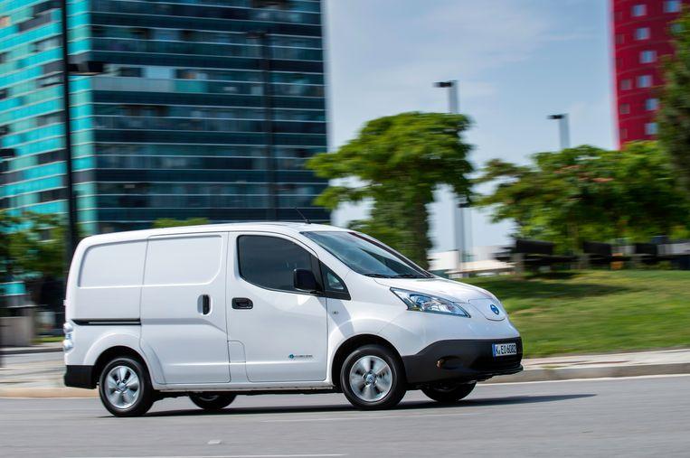 De Nissan e-NV200 Beeld