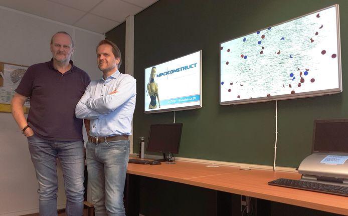 hans peter willems (links) en huibrecht boluijt: kunstmatige intelligentie