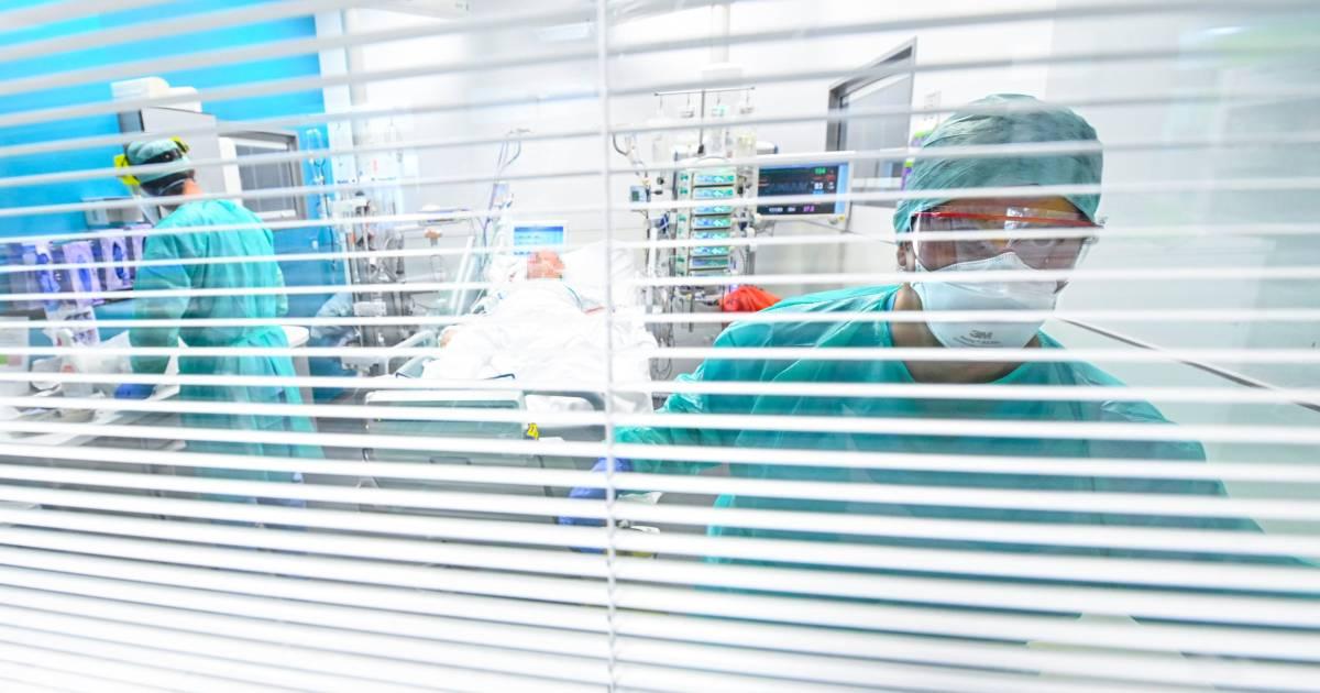 Le nombre de patients en soins intensifs se maintient sous la barre des 300 - 7sur7
